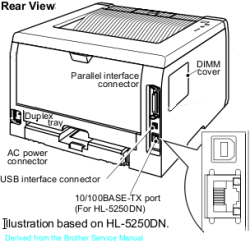 HL 5200 Series Rear