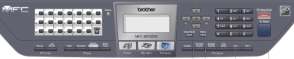 Brother MFC 8870DW Control Panel