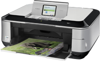 Canon Pixma MP640 and related Printers - Control Panel