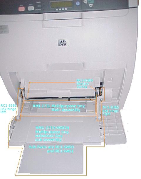 hp clj 3600 mp tray HP 4100N LaserJet Printer HP LaserJet 1320