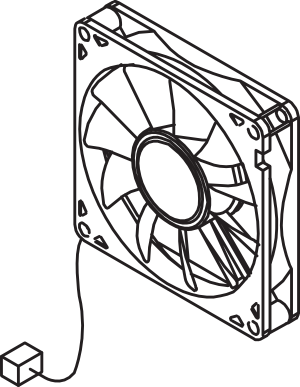 HP LJ P4014 M602 P4015 M601 RK2-1991 Fan M603 series P4515 Cooling