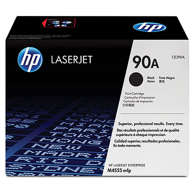 CE390A  HP 90A Black Toner Cartridge for HP M601/M602/M603 /M4555