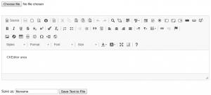A WYSIWYG html editor – MindMachine